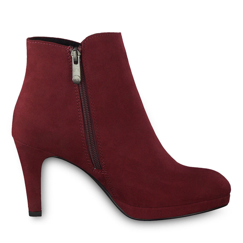 Marco Tozzi - 25342 Chianti Wine Ankle Boots
