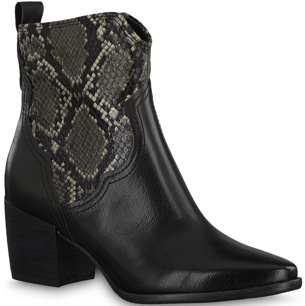 Marco Tozzi - 25353 Black Ankle Boots