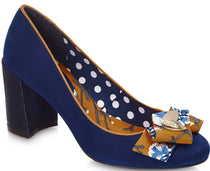 Ruby Shoo - Pandora Navy Shoes
