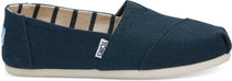 Toms - Classic Majolica Blue Heritage Canvas Shoes