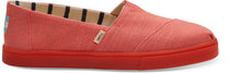 Toms - Classic Persimmon Pink Heritage Canvas Shoes