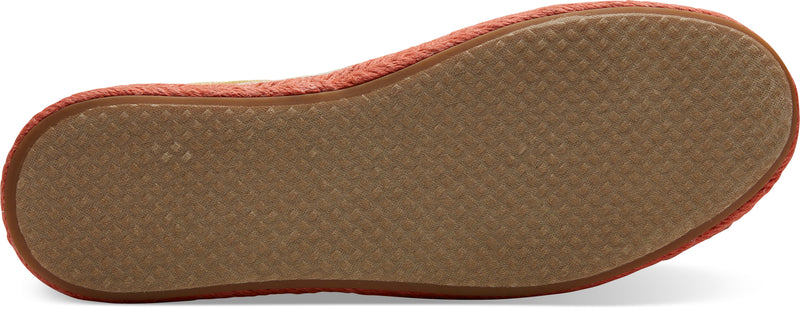 Toms - Alp Rope Sole Natural/Multi Canvas Shoes