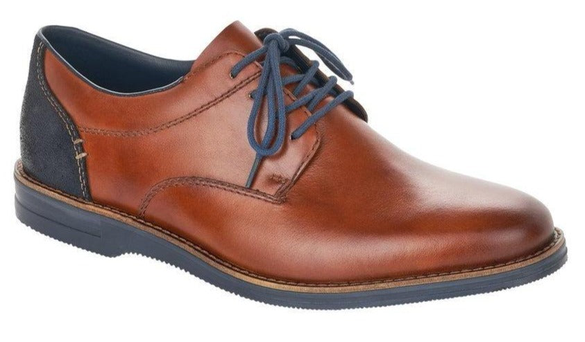 Rieker - 12502 Tan Shoes (Navy Laces)