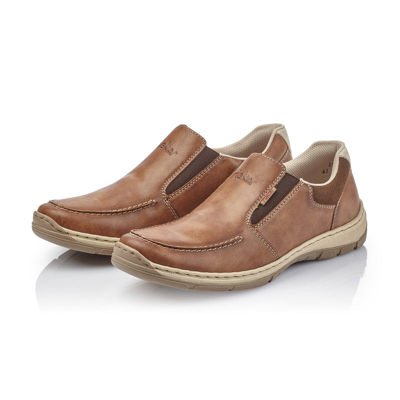 Rieker - 15260-24 - Tan Slip-on Shoes (ss20/ss21)