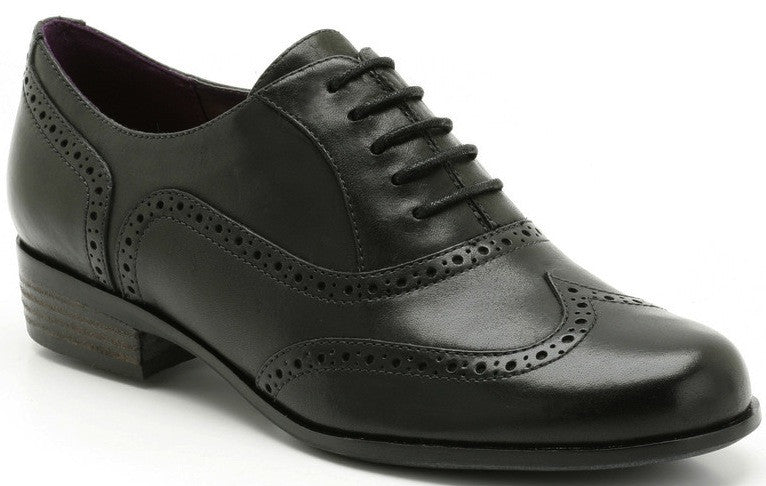 Clarks - Hamble Oak Black Shoe