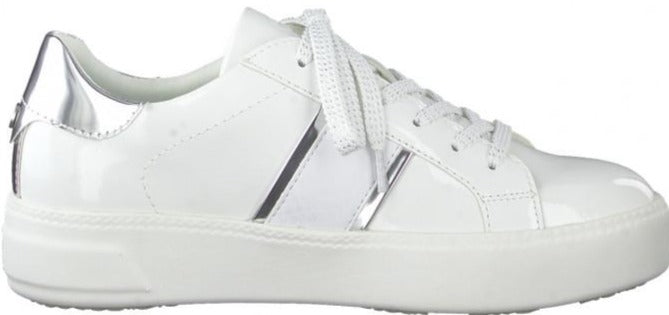 Tamaris - 23750-26 White/Silver Runners