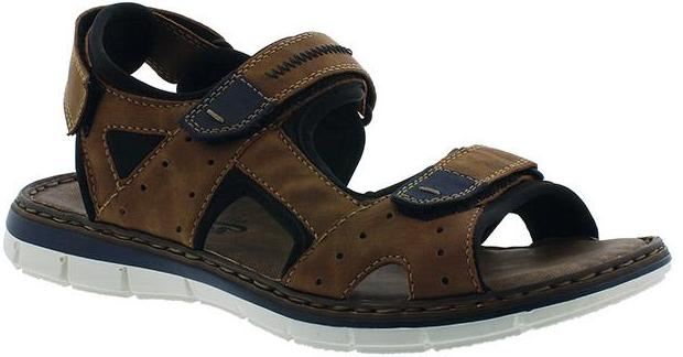 Rieker - 25159 Brown/Navy Sandals