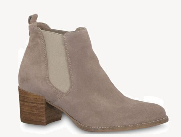 Tamaris - 25342 Taupe Ankle Boots