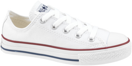 Converse - Ox White Kids Canvas (3J256)