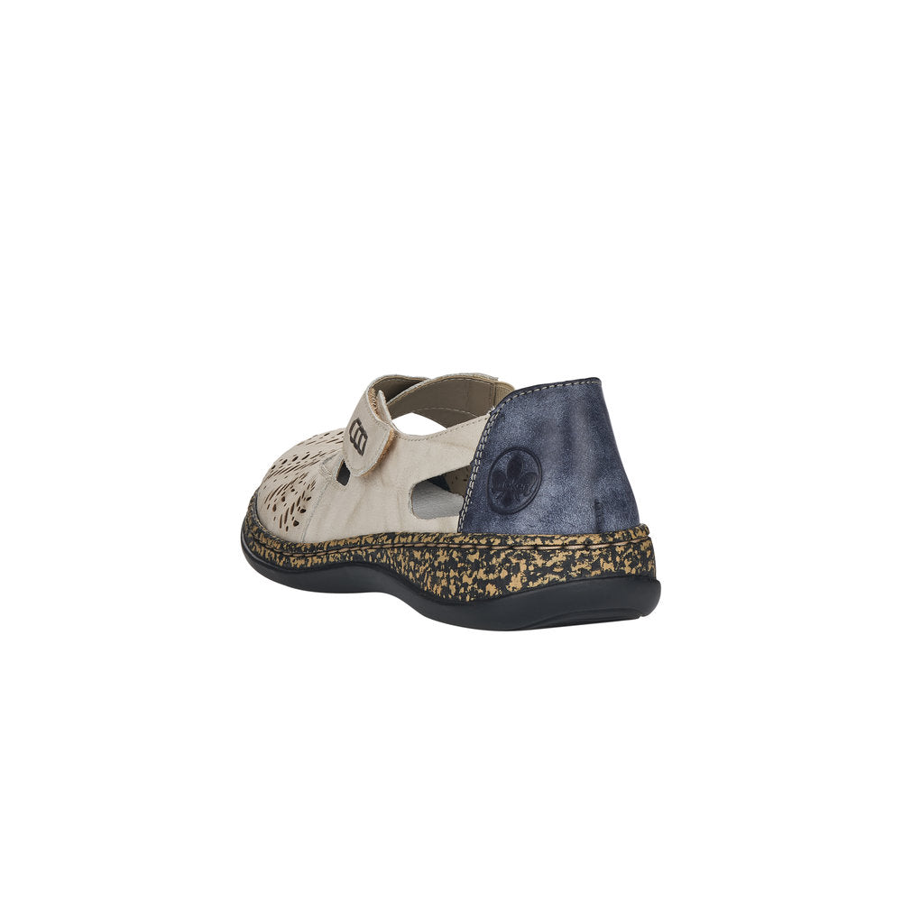 Rieker - 46375 Marble/Jeans Shoes