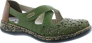 Rieker - 463H4 Green Shoes