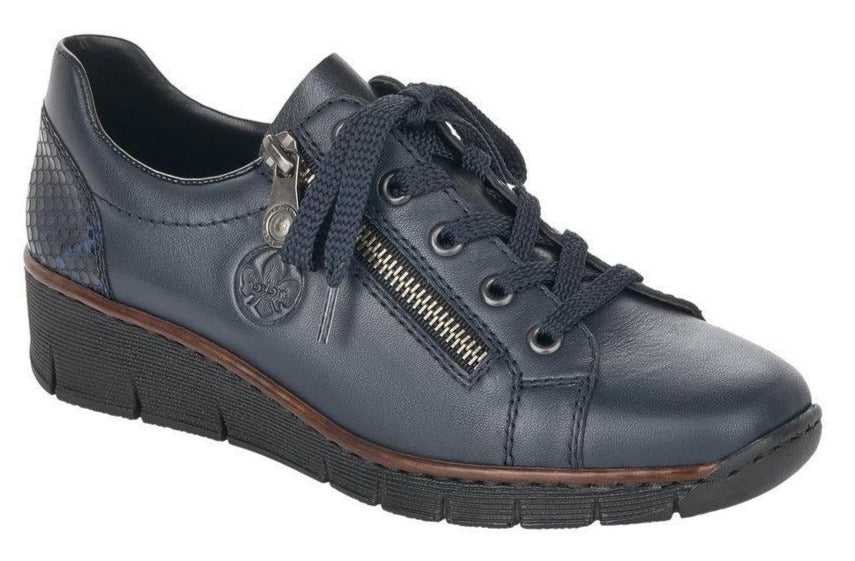 Rieker - 53702 Navy Shoes
