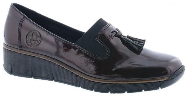 Rieker - 53751 Pomerol/Wine Shoes