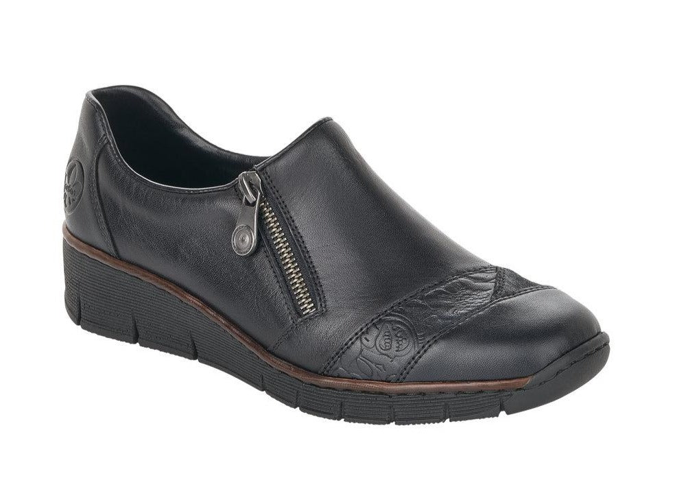 Rieker - 53761 Black Shoes