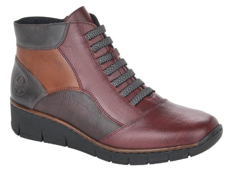 Rieker - 53774 Vino/Multi Ankle Boots