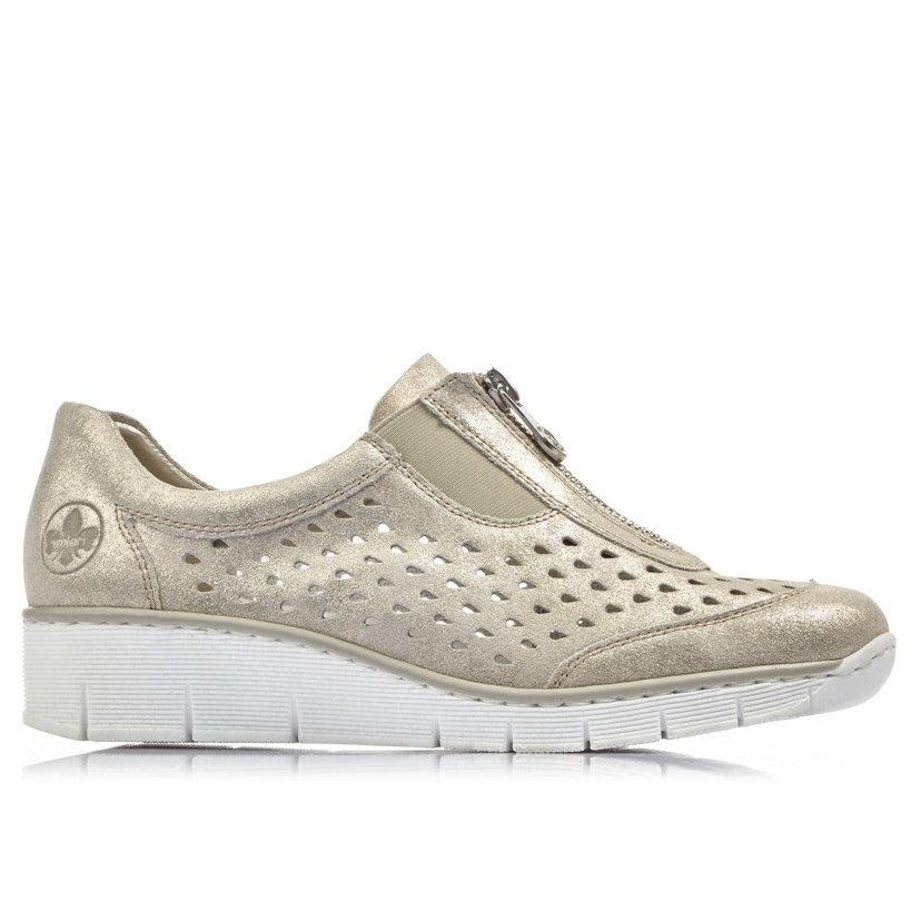 Rieker - 537F6 Gold/Beige Shoes (repeated for ss20)