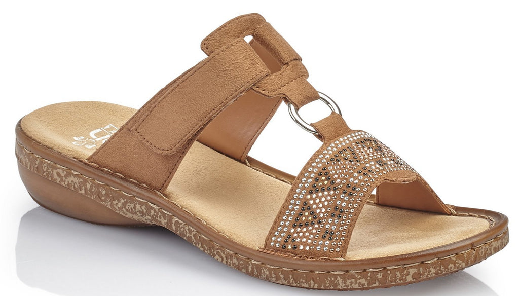 Rieker - 628MO Noce/Tan Sandals