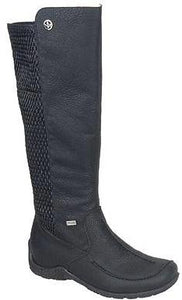 Rieker - 79995 Black Long Boots