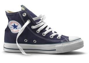Converse - Hi-Tops Navy Kids Canvas (3J233C)