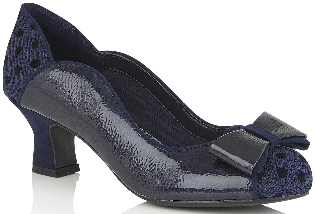 Ruby Shoo - Melody Navy Shoes