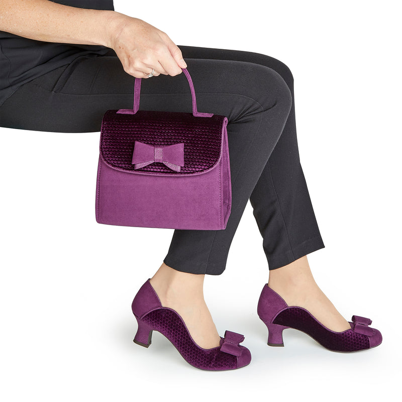 Ruby Shoo - Melody Purple Shoes