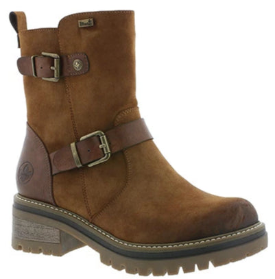 Rieker - 96274 Tan/Brown RiekerTex Ankle Boots