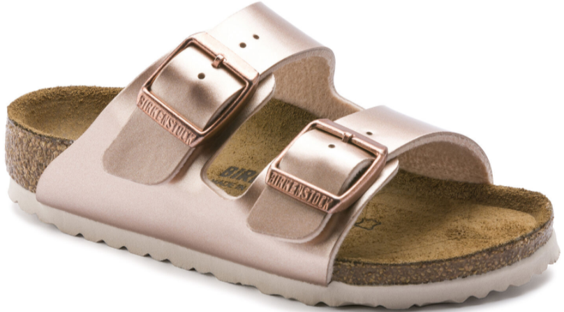Birkenstock - Arizona Metallic Copper Sandals
