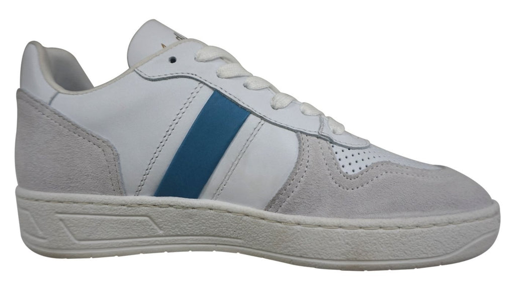 Bourbon Amy Huberman - Coming To America White/Blue Runners (sky stripe)