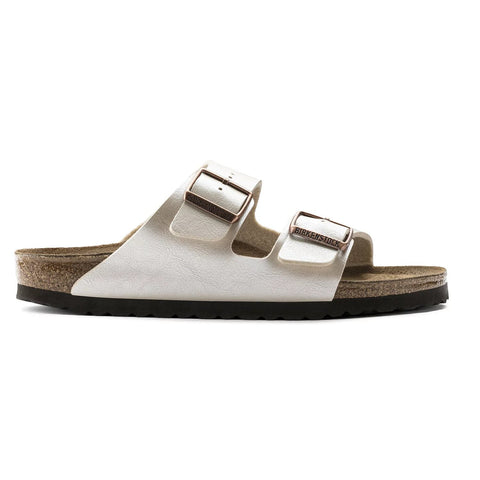 Birkenstock - Arizona Pearl/White Sandals