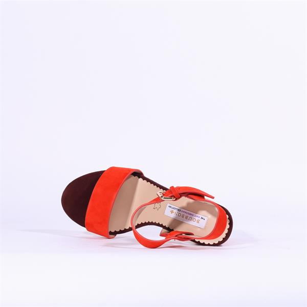 Bourbon Amy Huberman - Blonde Crazy Punch Mix Sandals
