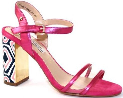Bourbon Amy Huberman - The Lady Vanishes Hot Pink Heels