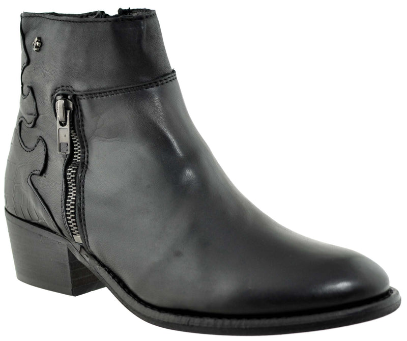 Tamaris - 25383 Black Glam Ankle Boots