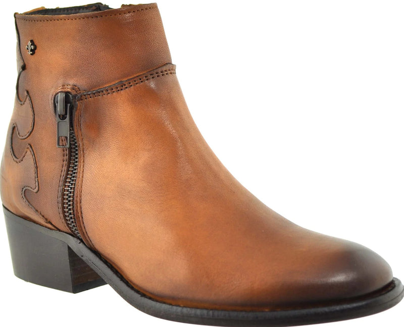 Rieker - 58359 Mahogany/Brown Ankle Boots