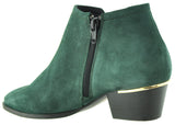 Bourbon Amy Huberman - Hitch Forest/Green Ankle Boots