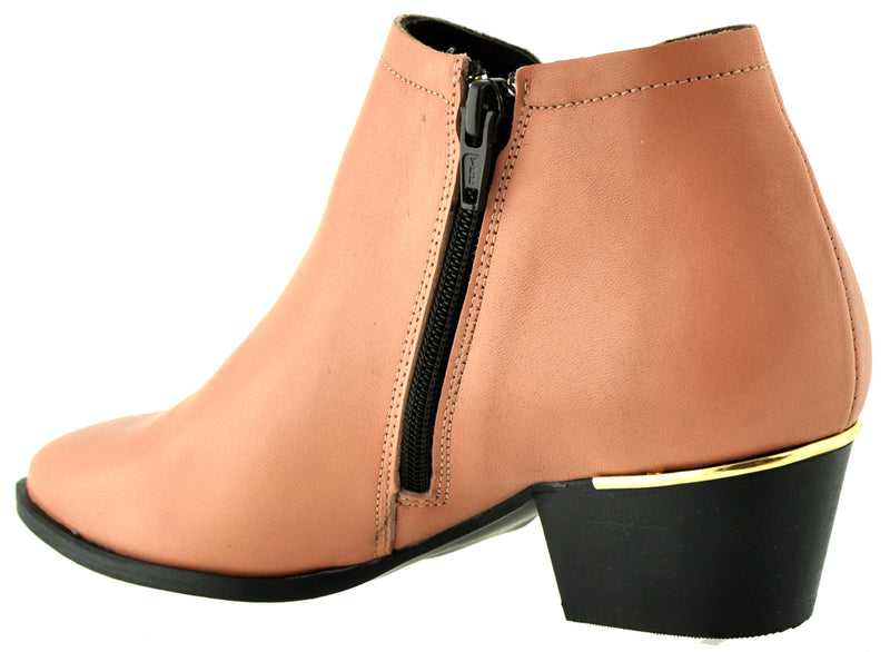 Bourbon Amy Huberman - Hitch Rosewood Ankle Boots