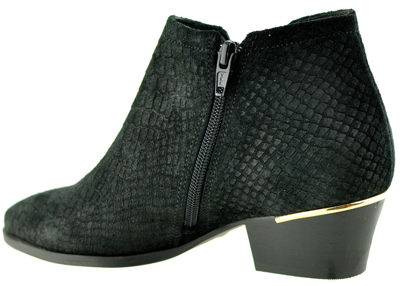 Bourbon Amy Huberman - One Day Black Ankle Boots