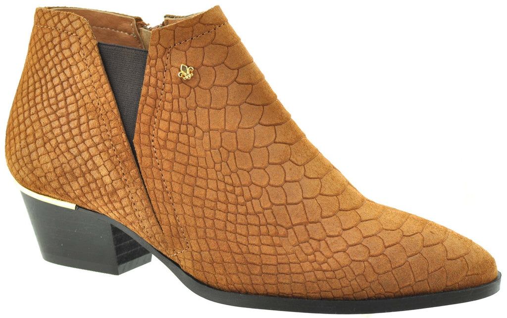Bourbon Amy Huberman - One Day Cinnamon Ankle Boots