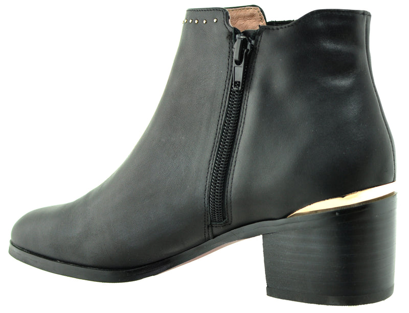 Bourbon Amy Huberman - Step Mum Black Ankle Boots