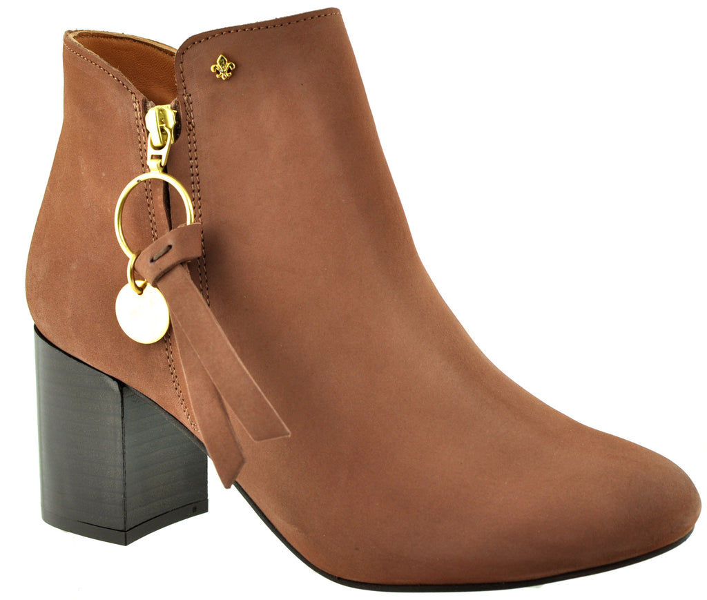 Bourbon Amy Huberman - True Romance Deep Rosewood Ankle Boots