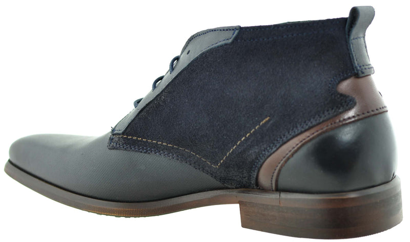 Brent Pope - Akitio Blue Boots