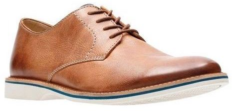shopping hot sales new concept Clarks - Atticus Lace Tan Leather Shoes