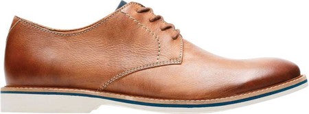 Clarks - Atticus Lace Tan Leather Shoes