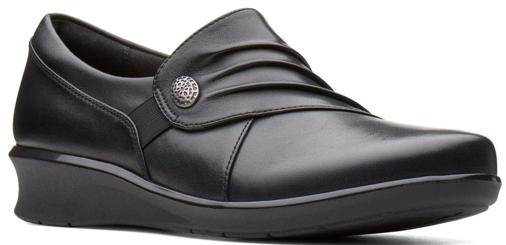 Clarks - Hope Roxanne Black Shoes