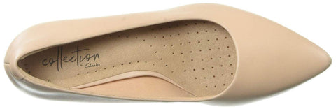 Clarks - Linvale Jerica Blush Leather Shoes