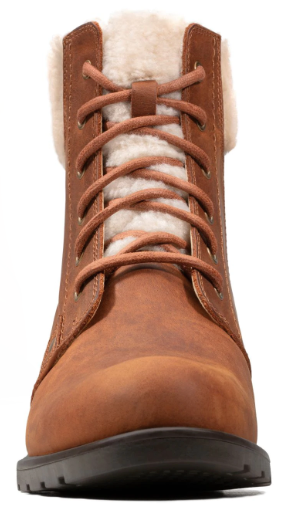 Clarks - Orinoco Dusk Tan Leather Ankle Boots