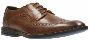 Clarks - Prangley Limit British Tan Shoes