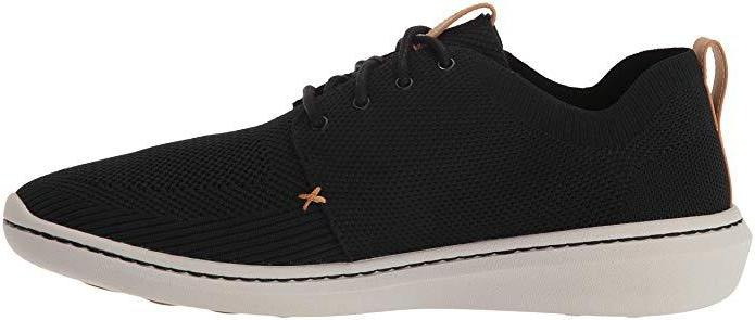 Clarks - Step Urban Mix Black Runners