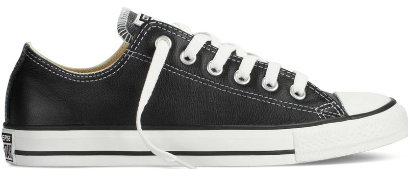 Converse - Ox Black Leather (132174)