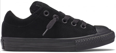 Converse - Ox Black Kids Suede (654257C)