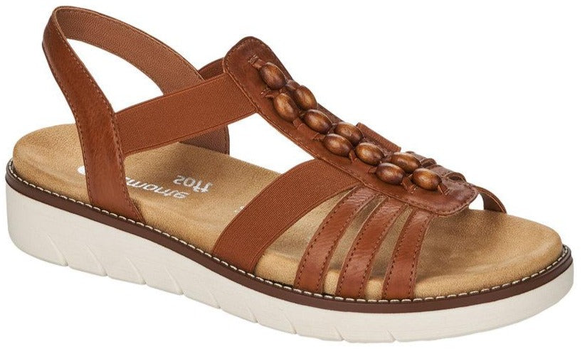 Remonte - D2065 Brown/Tan Sandals